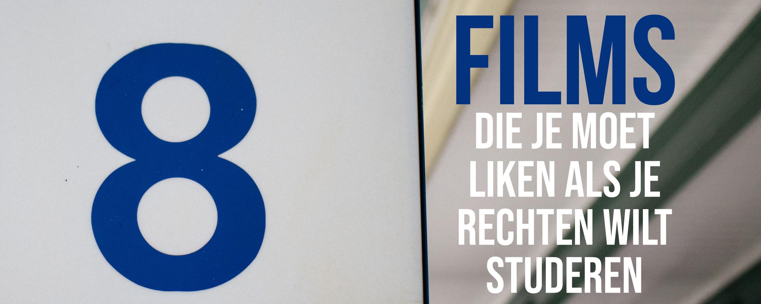 8 Films/series Die Je Leuk Moet Vinden Als Je Rechten Wilt Studeren